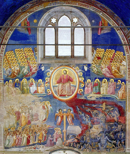 giotto the last judgment in the arena chapel 1305 padua