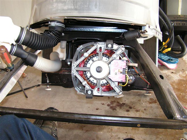 Whirlpool Built Direct Drive Washer Pump Removed From Mot