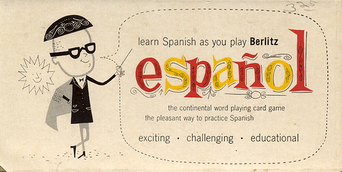 Berlitz Espanol card game | by grickily
