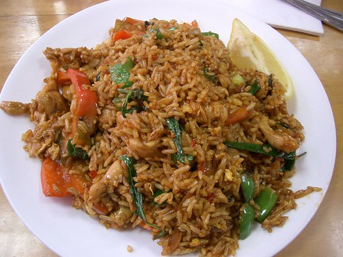 Basil Fried Rice Recipe Stret Food