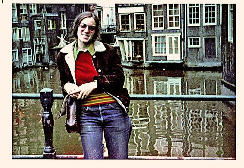 On the canal in Amsterdam (1971) | by musicmuse_ca