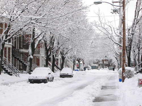 My street in the winter | by Pierre Phaneuf