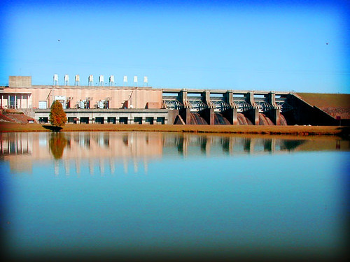 West Point dam, Georgia | by BoringPostcards