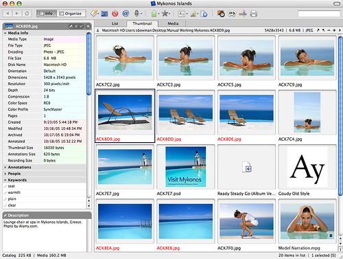 how to get thumbnail files mac