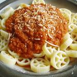 Rotelle mit vegetarischer Sauce à la Bolognese