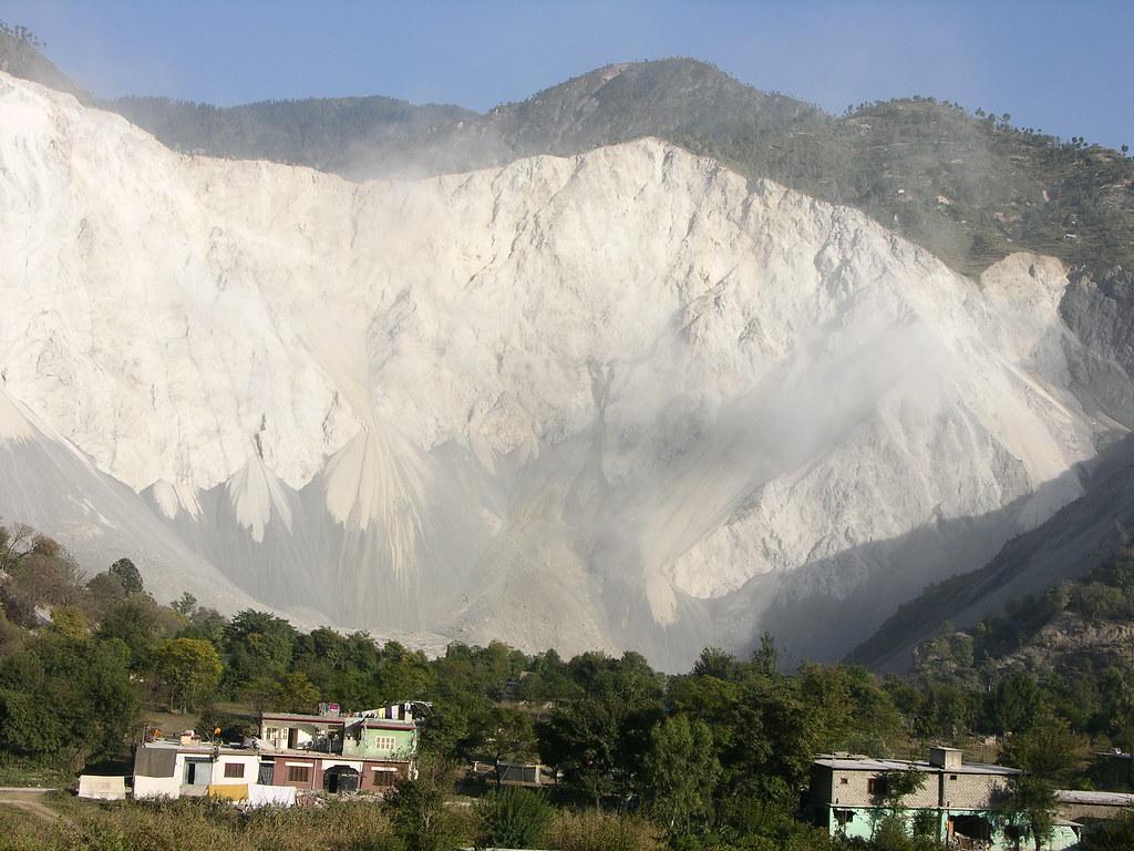 Muzaffarabad Earthquake Pictures This Mountain Slid Into