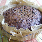 Make-ahead mulled wine cake