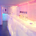 Ice bar at the Kube hotel