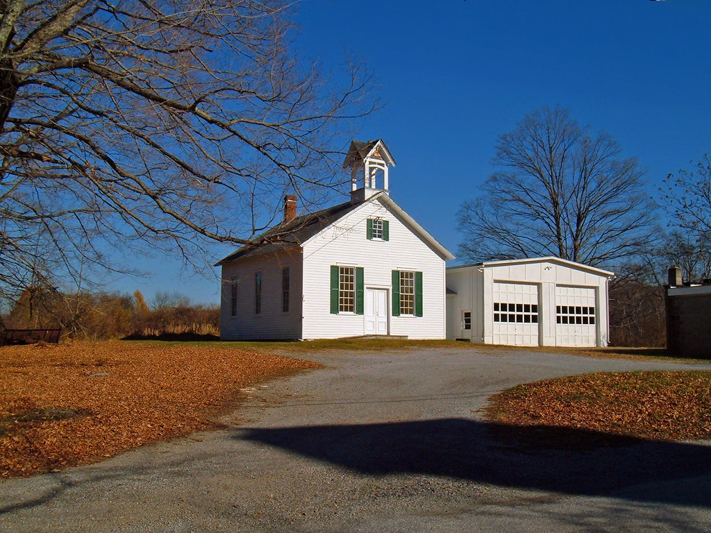 Schoolhouse | Old-fashioned one-room schoolhouse, Walpack ...