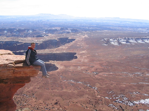 Ken Being an Idiot, Grand View Point, Island in the Sky Di