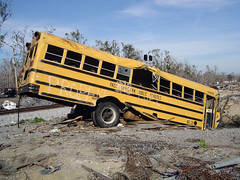 Post-Katrina School Bus | by chrismetcalfTV