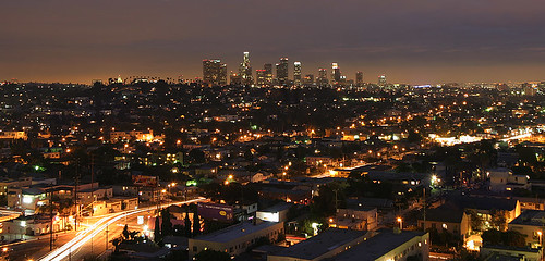 Los Angeles at night | by lightmatter