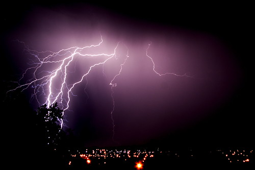 Lightning Crashes | by ~Prescott