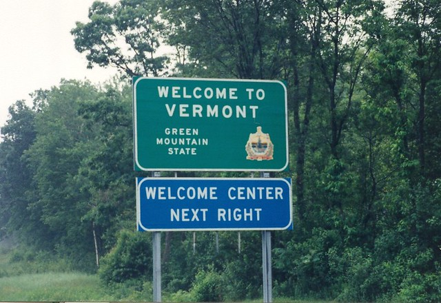 Image result for vermont welcome sign I91