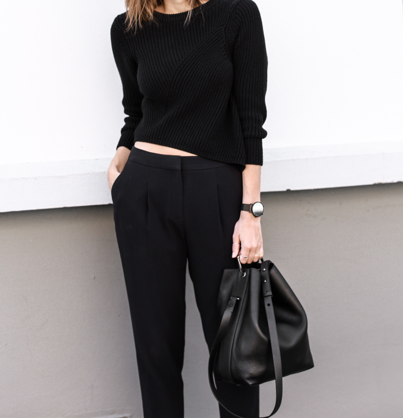modern legacy, fashion blog, street style, SABA, man stye, all black, bucket bag (1 of 1)