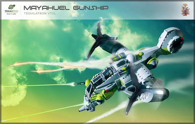 Mayahuel Gunship - DA2 - Fire ze missiles!