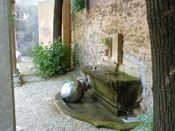 fontaine hôtel de Gallifet