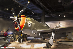 NX14519 42-8205 Big Stud - 345 - USAAF - Republic P-47D Thunderbolt - The Museum Of Flight - Seattle, Washington - 131021 - Steven Gray - IMG_3713