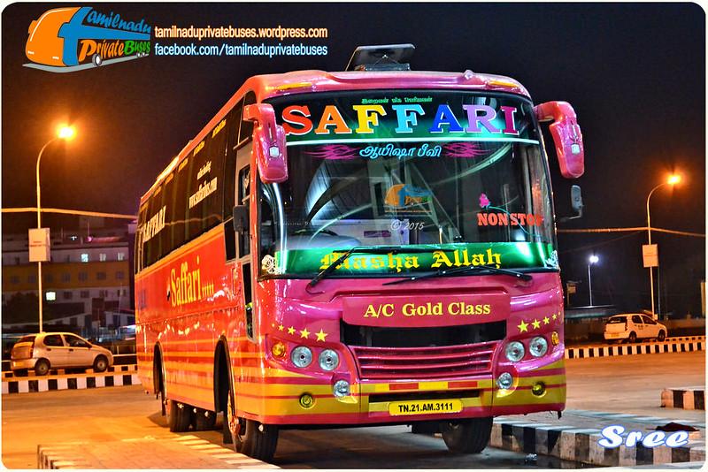 Saffari Madurai Chennai