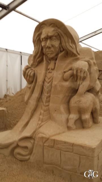 Swinemünde Sand Skulpturen Festival 201575