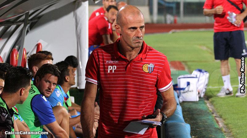 Pippo Pancaro, ex tecnico del Catania oggi sulla panchina giallorossa