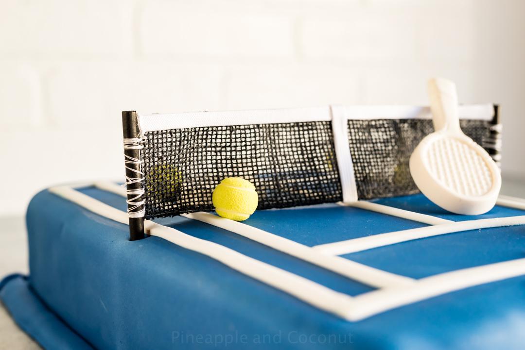 Australian Open Tennis Court Tim Tam Cake www.pineapppleandcoconut.com #AusOpen #Ad #WorldMarket