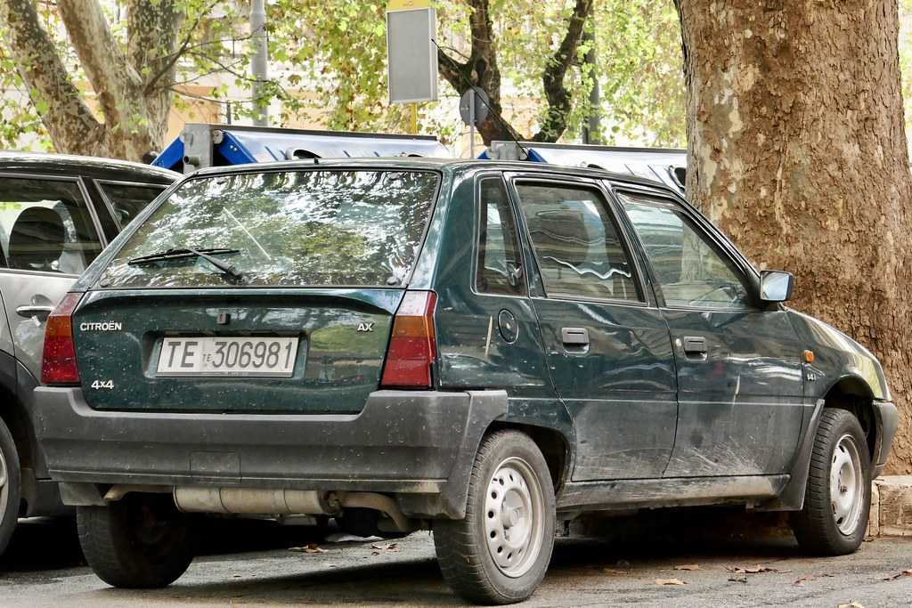 1993 citroen ax 4x4 i 39 d been hoping to see one of these a flickr. Black Bedroom Furniture Sets. Home Design Ideas