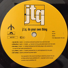 J.T.Q.:DO YOUR OWN THING(LABEL SIDE-A)