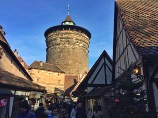 Patio de los artesanos en Nuremberg