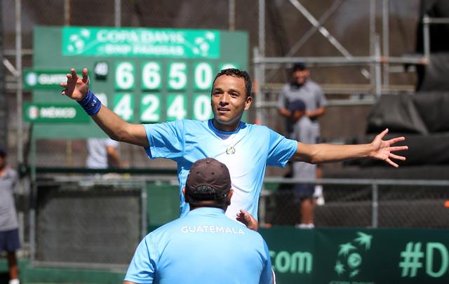 Día 1, Copa Davis GUA vs MEX