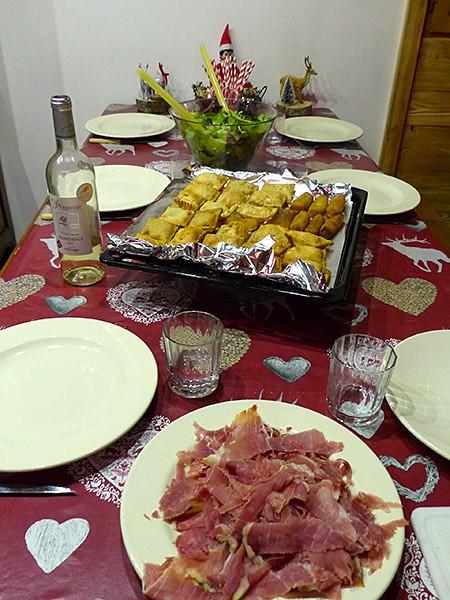 dîner de tourtons