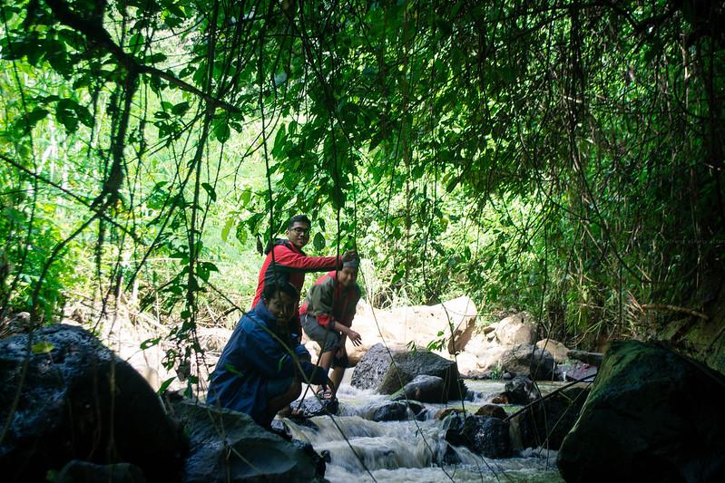coban-tangkil-susur sungai