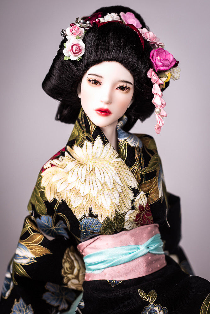 Geisha For This Time The Hairstyle Is Made For A 6 7