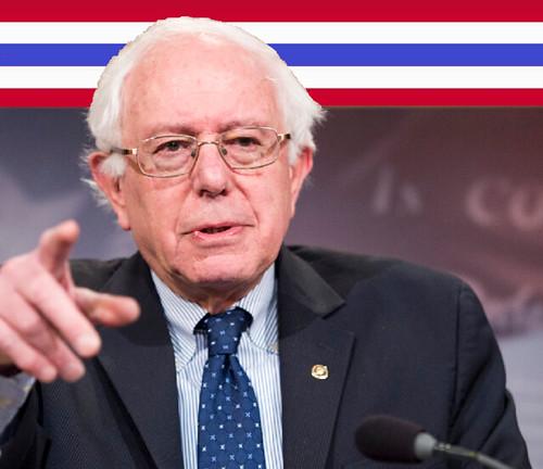 Bernie Surges!
