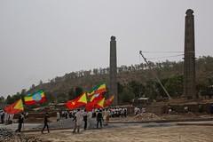 Parque das Estelas em Axum, Etiópia