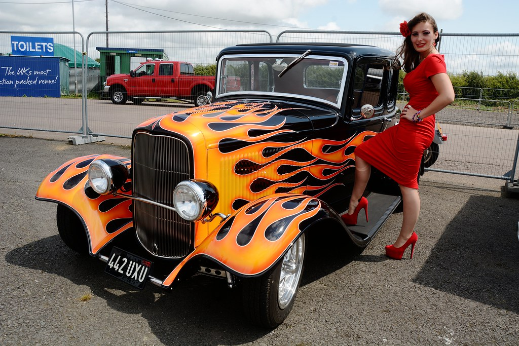 Hot Rod Girl Images