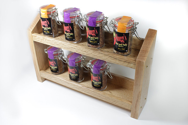 Spice Rack - Front View