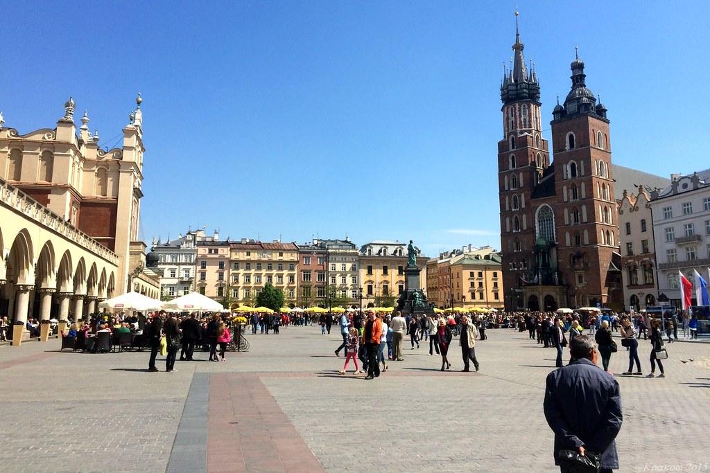 Rynek Główny, Kraków, Polska