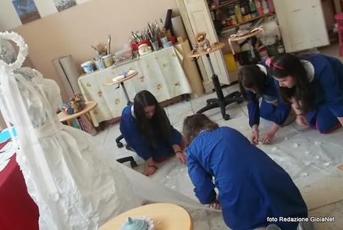 laboratorio Mazzini studenti all'opera
