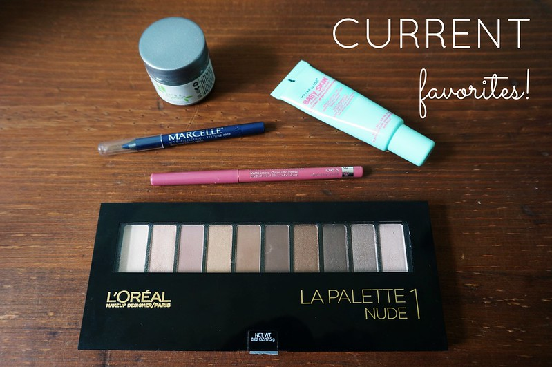Current Beauty Favorites 1