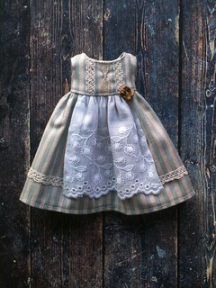 Duck egg-Apron dress | by little_moshi