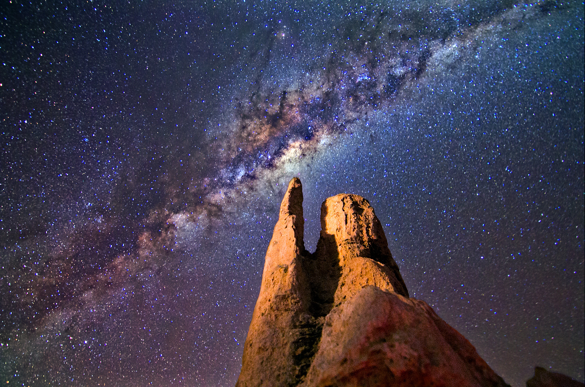 Pinnacles Desert, Galactic Core