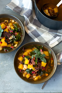 Butternut Squash Bacon Soup | by Yack_Attack