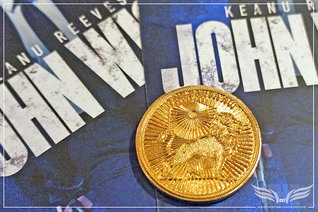 The Establishing Shot JOHN WICK 2 ENS CAUSA SUI COIN