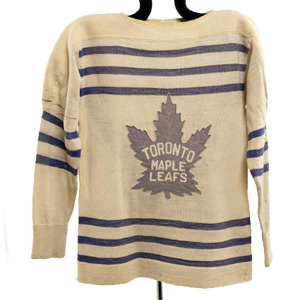Toronto Maple Leafs 1934-35 F jersey