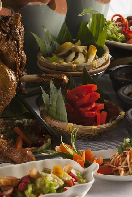 Aneka Jeruk Buah & Fattoush Salad