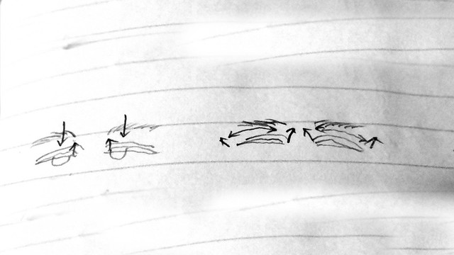 自力で3日で簡単に二重まぶたにする方法(実践編)【新・視力回復法】ブログネタ用 (6)