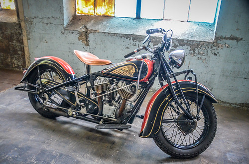 Antique Indian Motorcycle