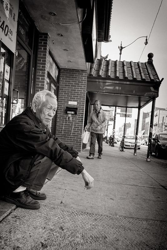 Chicago Chinatown 9 bw