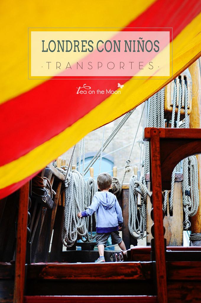 Londres con niños: actividades relacionadas con los transportes